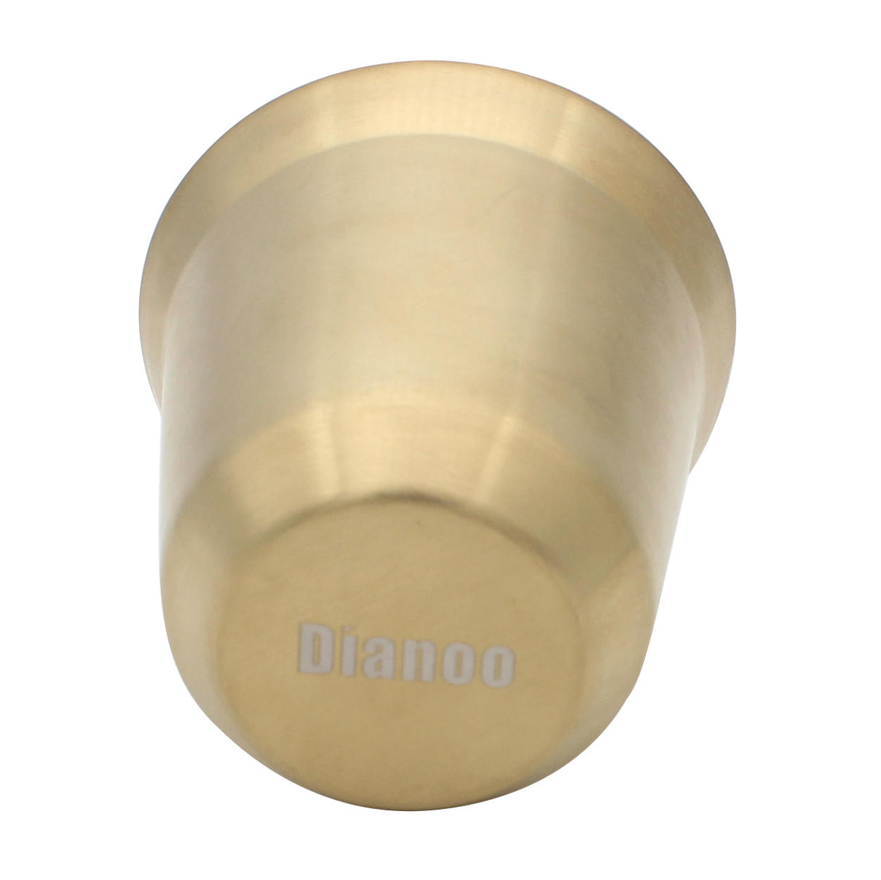Dianoo Coffee Cup Stainless Steel Espresso Cups Double Wall Thermally Insulated Capsule Coffee Mug Light gold