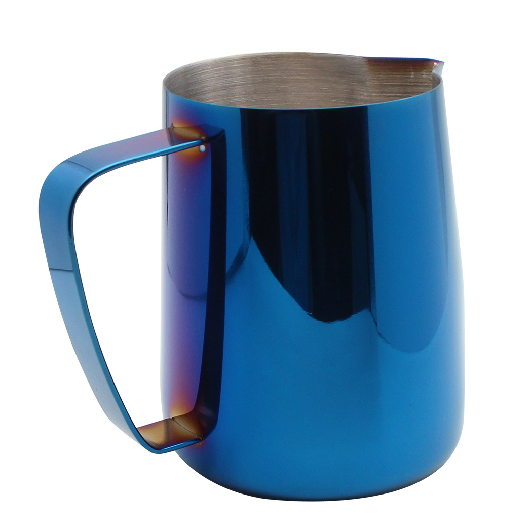Dianoo Milk Frothing Pitcher Jug Stainless Steel Plated with Titanium Creamer Latte Art Cup Coffee Latte Cappuccino