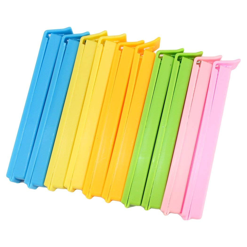 Dianoo 30PCS Bag Sealing Clips For Home and Kitchen 11CM Multicolor